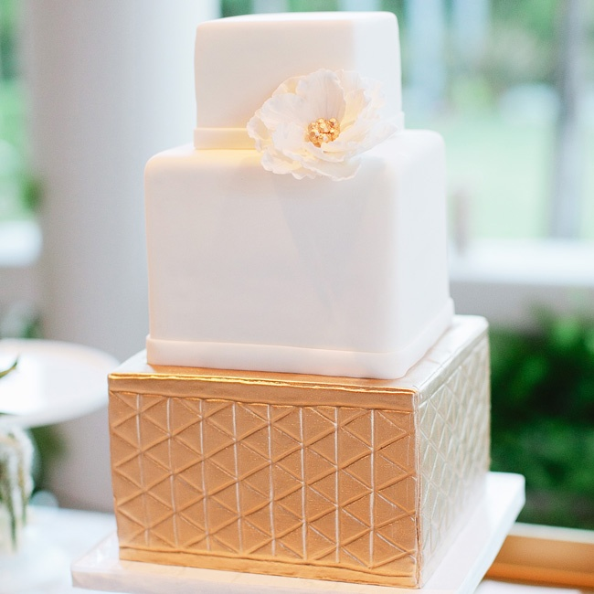A single gold tier