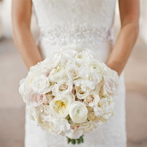 Cream and Ivory Bridal Bouquet