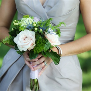 Small Lush Bridesmaid Bouquets