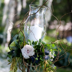 Whimsical Floral and Willow Branch Decor