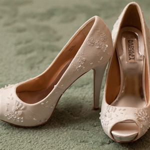 Badgley Mischka Peep-Toe Pumps