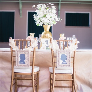 The bride's custom event design