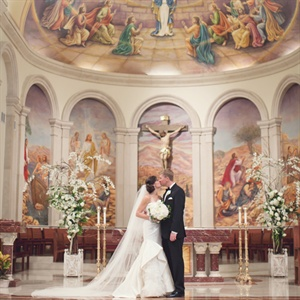 Catholic Ceremony Decor