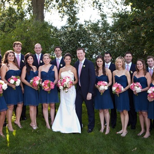Blue Bridal Party Attire