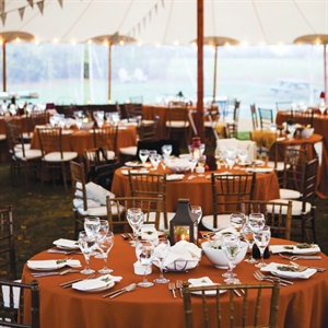 Autumn Reception Decor