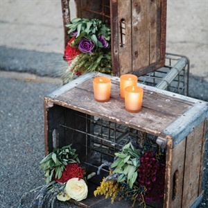 Wooden Crate Decor