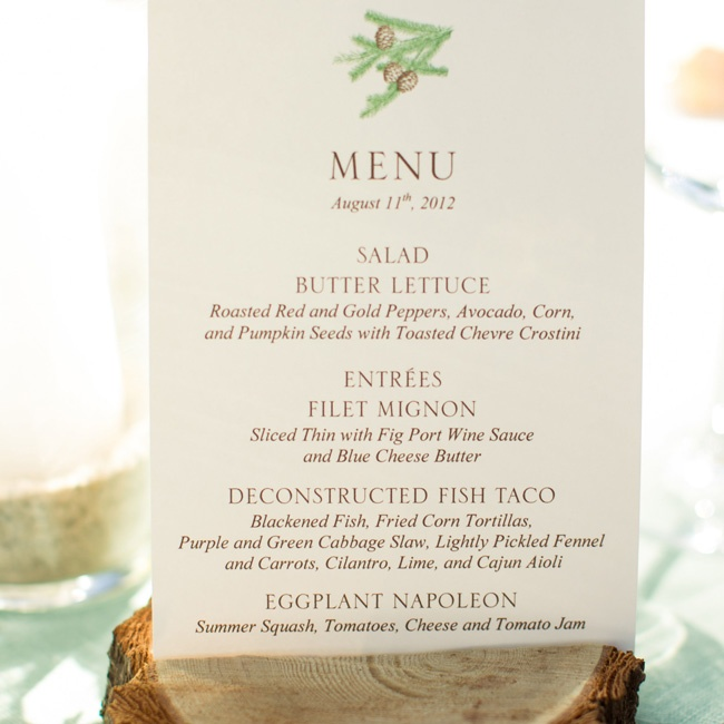 A pinecone motif