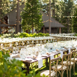 To spotlight the natural beauty of Lake Tahoe, Jessica and Brian