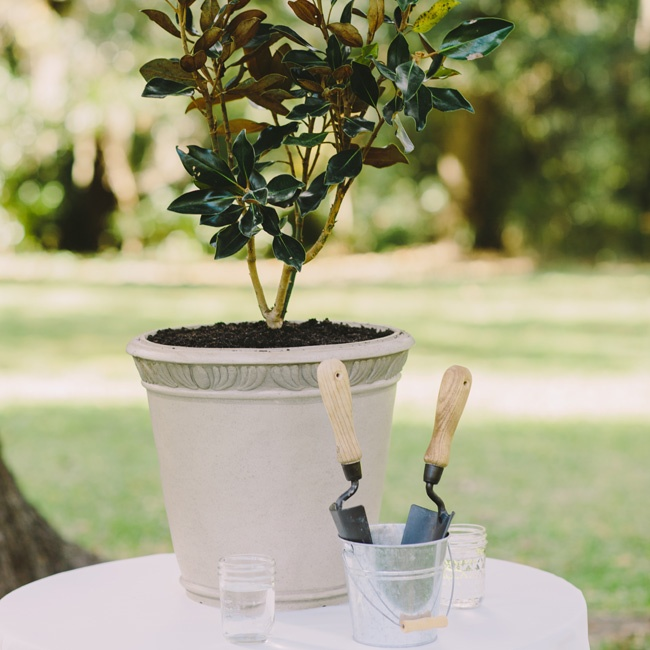 Instead of a