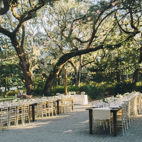 Eden Gardens State Park Outdoor Reception Space