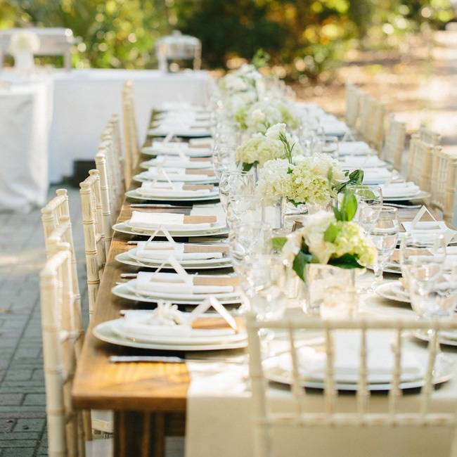 Gold silk shantung runners