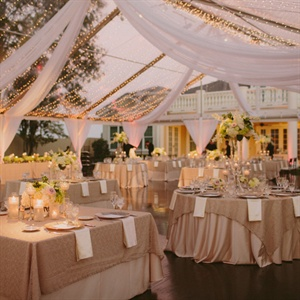 Neutral Reception Decor