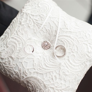 Detailed Intricate Ring Pillow
