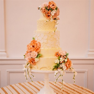 Sugar Flower Draped Cake