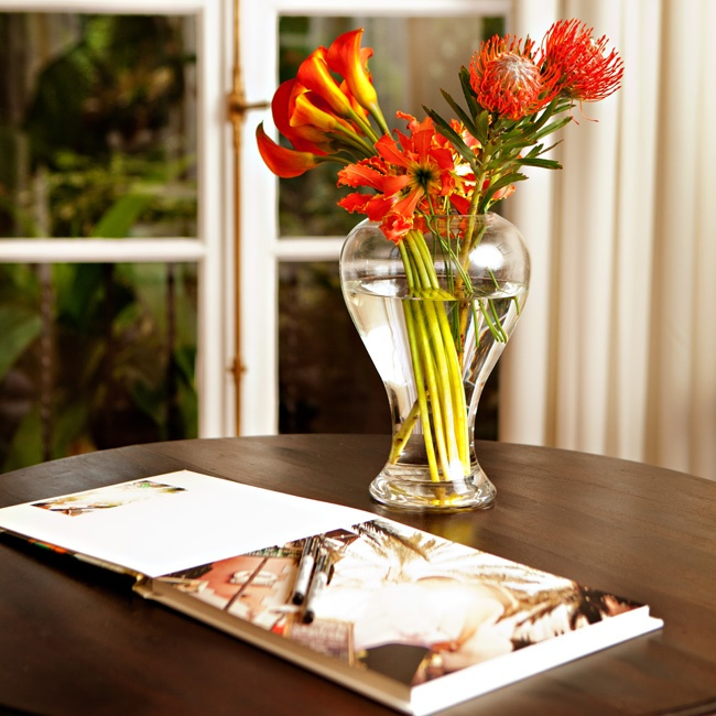 A vibrant arrangement of