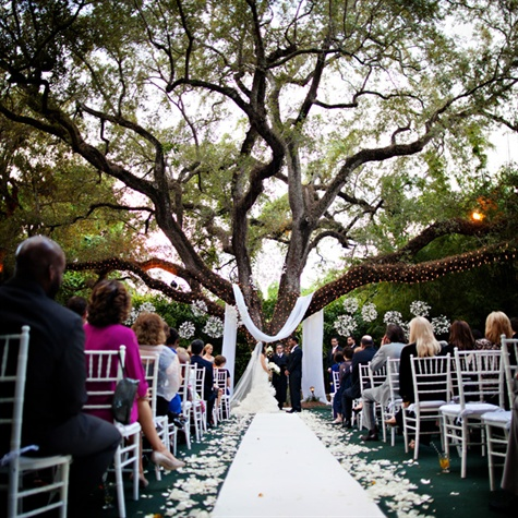Villa Woodbine Outdoor Ceremony Space
