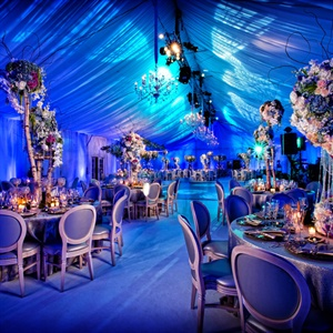 Romantic Tented Reception