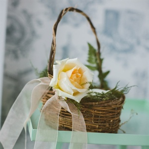 Branch Flower Girl Basket
