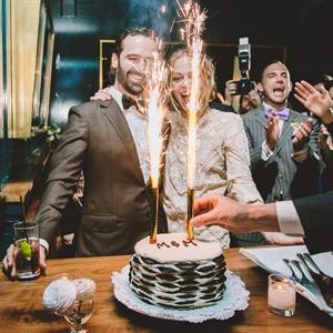 Pastry Wedding Cake