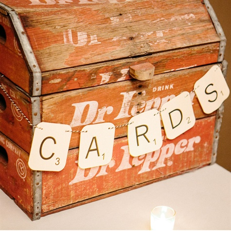 Soda Crate Card Box