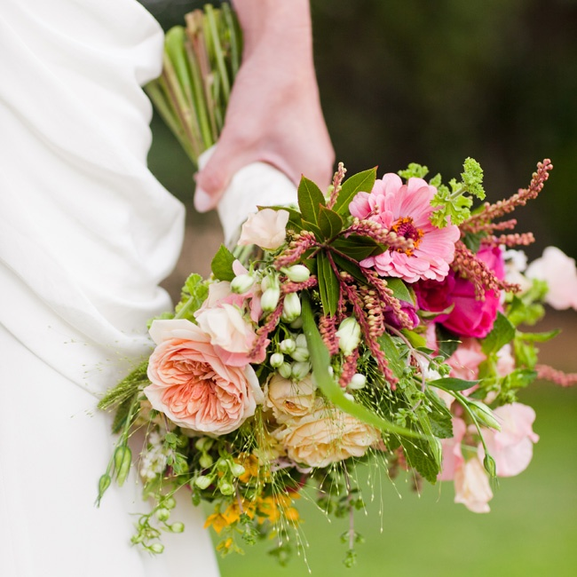 A no-brainer for her California-inspired day, Elizabeth's organic-looking