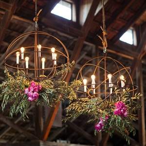 Iron Orb Reception Decor