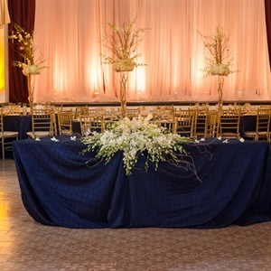 Navy Head Table