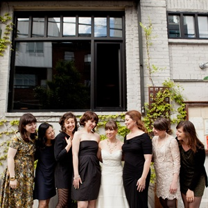 Mismatched Bridal Party Style