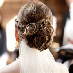 The Bride's Hair and Veil