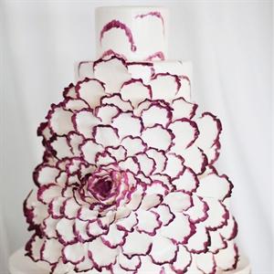 Sugar Lisianthus Cake
