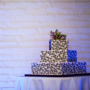 Three Tier Square Cake