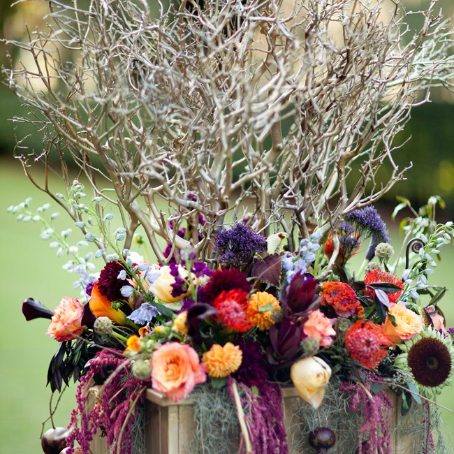 Two large wooden