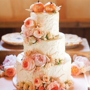 Three-Tier Buttercream Cake