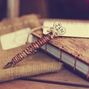 Rustic Guestbook