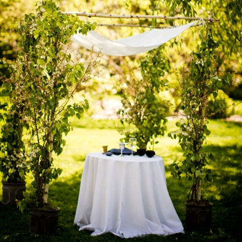 Garden Ceremony Chuppah