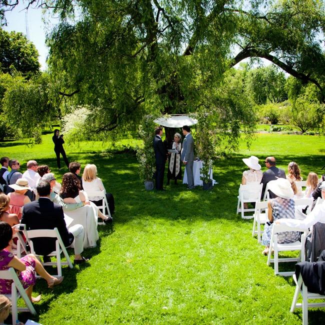 A Jewish Garden Wedding In Brooklyn, NY
