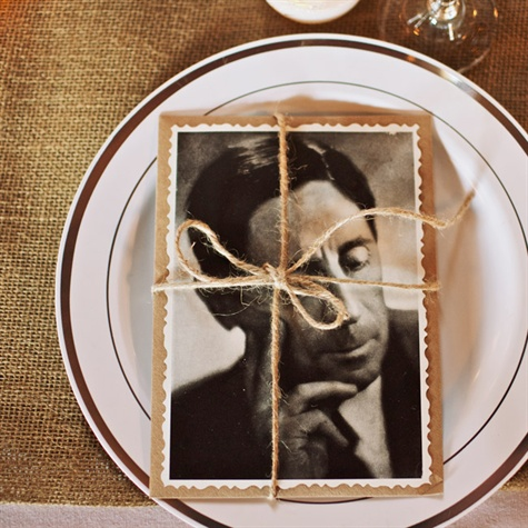 Photo Place Setting