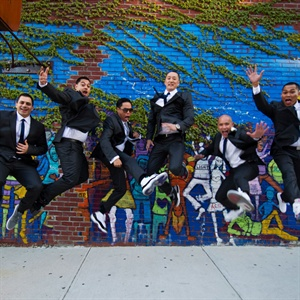 Jumping Groomsmen Shot