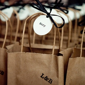 Brown Paper Bag Favors