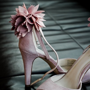 Dusty Pink Bridal Shoe