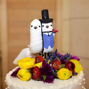 White Dove Cake Toppers