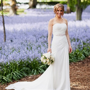 Fit-n-Flare Pronovias Gown