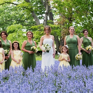 Convertible Bridesmaids' Dresses