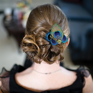 Peacock Hairpin
