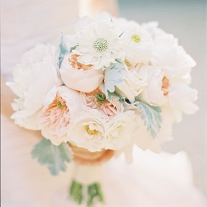 Blush Pink and White Bouquet