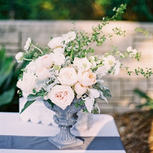 Blush, Romantic Centerpieces