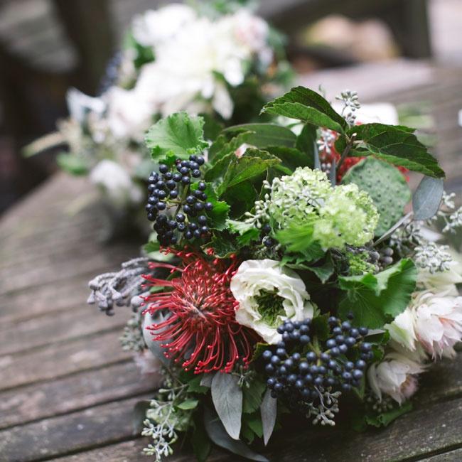 Protea Wedding Flowers: Protea Bridal Bouquet