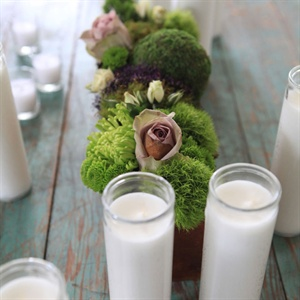 Lush Green Centerpiece