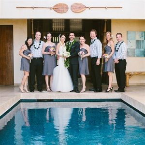 Gray Bridal Party Formalwear
