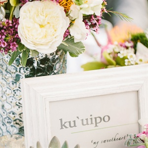 Hawaiian Table Names